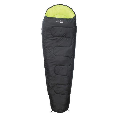 black-comfortable-festival-sleeping-bag